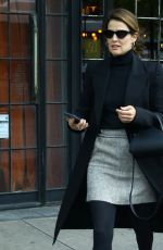 Cobie Smulders Outside the Bowery Hotel in NYC