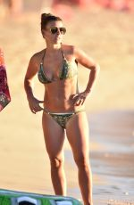 Coleen Rooney In a bikini on the beach in Barbados