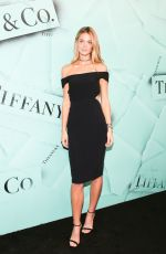 Constance Jablonski At Tiffany & Co. Celebrates 2018 Tiffany Blue Book Collection in NYC