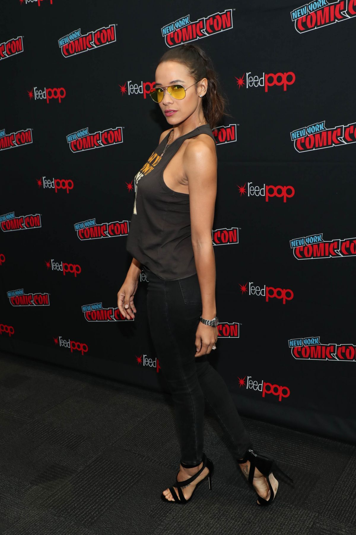Dania Ramirez At The cast of 'Tell Me a Story' walk the red carpet