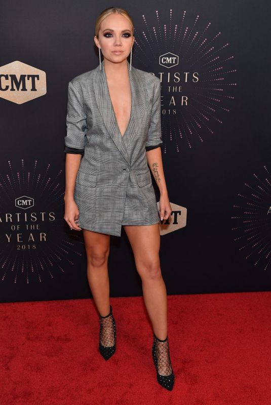 Danielle Bradbery Attends the 2018 CMT Artists of The Year
