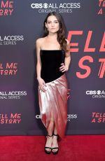 Danielle Campbell At CBS All Access