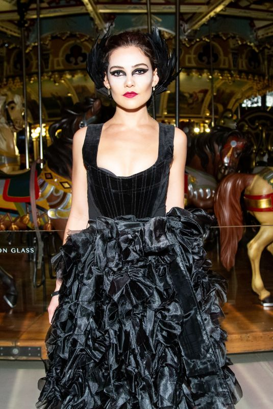 Danielle Campbell At V Magazine & Chanel Halloween Party, New York