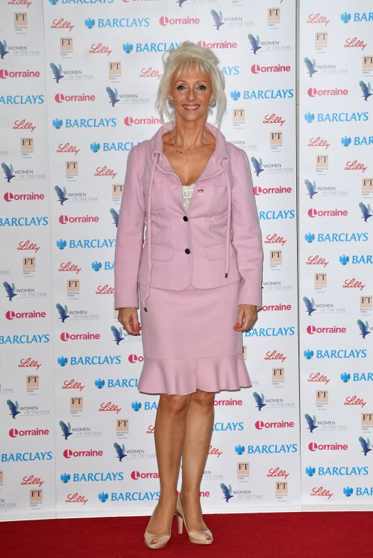 Debbie McGee At The Women of the Year Lunch and Awards 2018 held at the Intercontinental Hotel, London
