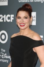 Debra Messing At 2018 GLSEN Respect Awards held at The Beverly Wilshire Hotel in Beverly Hills