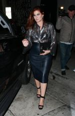 Debra Messing Leaves LA hot spot Craig