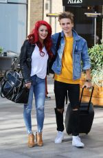 Dianne Buswell Outside ITV Studios
