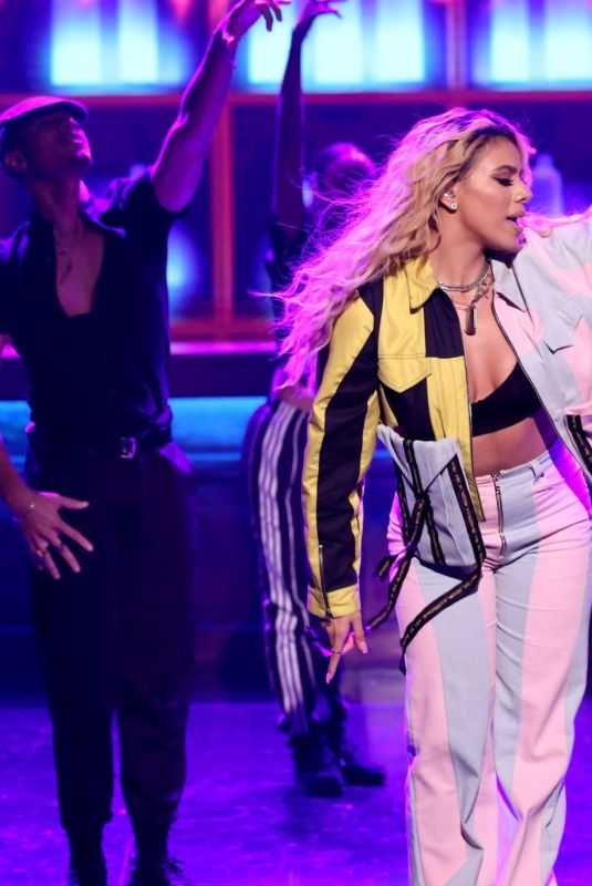 Dinah Jane At The Tonight Show Starring Jimmy Fallon in New York