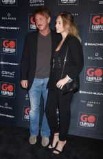 Dylan Penn At GO Campaign