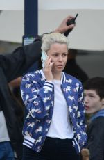 Elizabeth Banks Shoots the feature film Charlies Angels in Hamburg