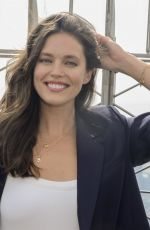 Emily DiDonato Attends the lighting of the Empire State Building in NYC
