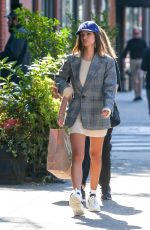 Emily Ratajkowski On a stroll in New York City