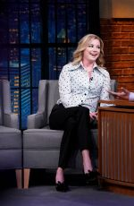 Emily VanCamp At Late Night with Seth Meyers Season 6 Episode 747 in NYC