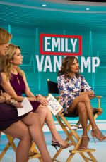 "Emily VanCamp On ""The Today Show"" in NYC"
