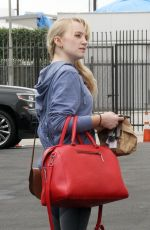 Evanna Lynch Outside Dancing With The Stars rehearsal studios in Los Angeles