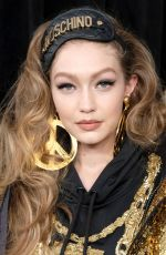Gigi Hadid At Moschino x H&M show in NYC