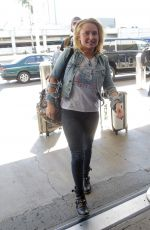 Hayden Panettiere At LAX Airport