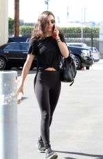 Hayley Erbert Leads the troupes into dance practice in Los Angeles