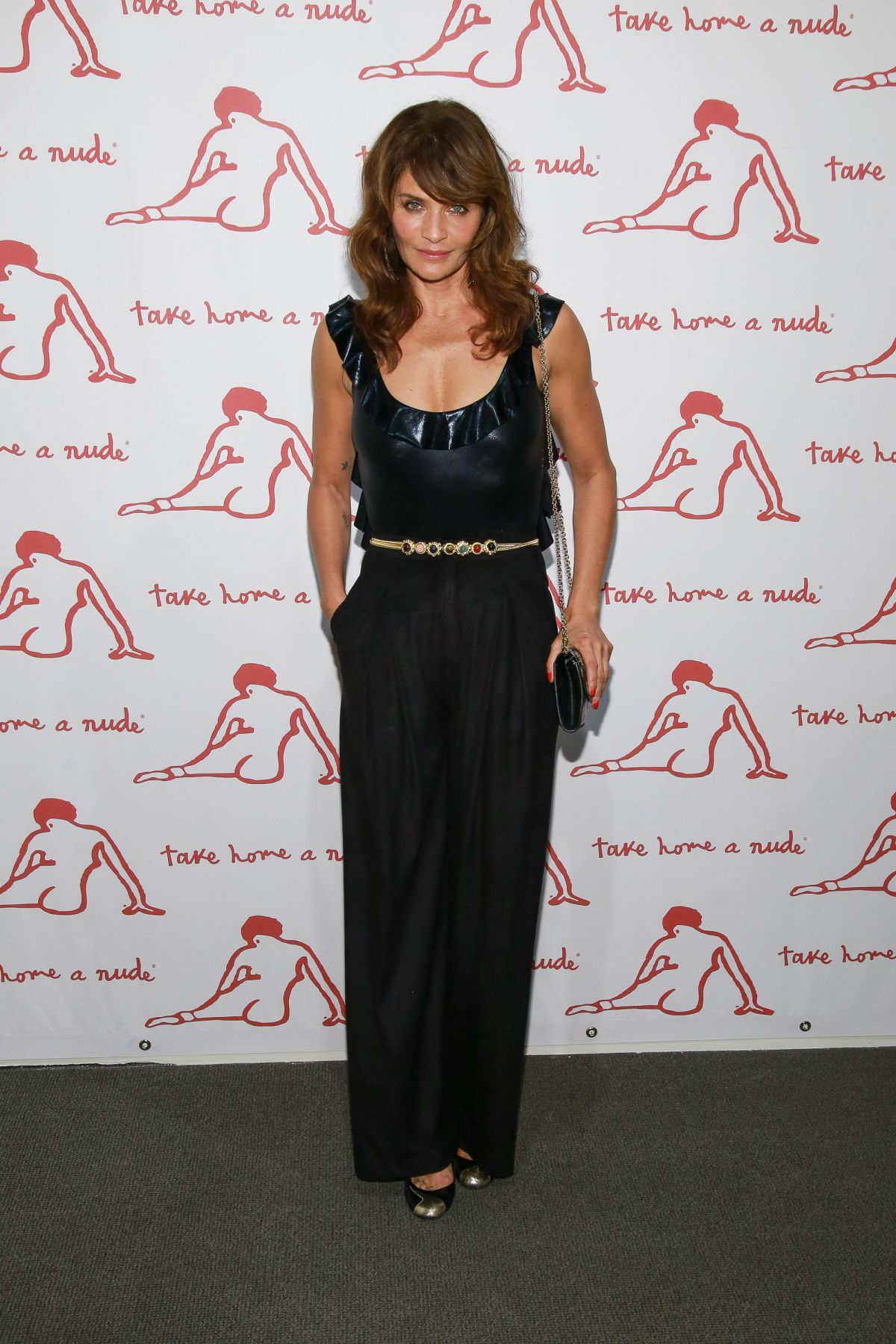 HELENA CHRISTENSEN at Take Home a Nude Annual Auction and