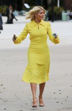 Holly Willoughby Filming for the ITV