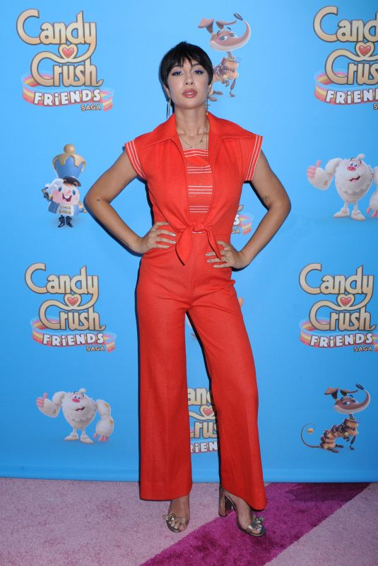Jackie Cruz At Candy Crush Friends Live to celebrate launch of their all-new game, New York