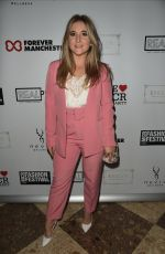 Jazmine Franks At The Manchester Fashion Festival at The Midland Hotel in Manchester