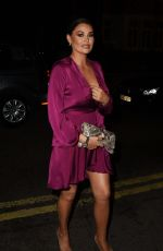 Jessica Wright Attends the annual white collar boxing event,