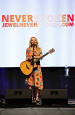 Jewel Kilcher Performs at Wellness Your Way Festival at Duke Energy Convention Center - Cincinnati
