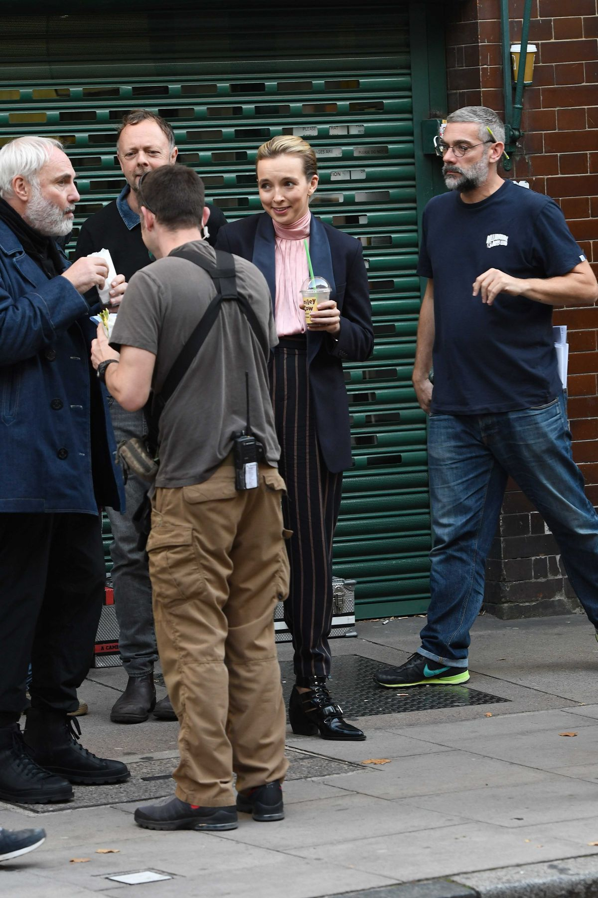 Jodie Comer On Set Of Killing Eve Series 2 Filming