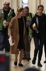 Jodie Whittaker At Charing Cross Station, London