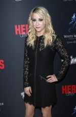 Kara Eberle At the Heroes After Dark event at New York Comic Con