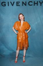 Karen Elson At Givenchy show, Front Row, Spring Summer 2019, Paris Fashion Week, France