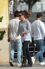 Kate Beckinsal Outside a studio in LA