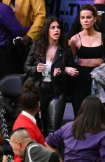 Kate Beckinsale Attends a basketball game between the Los Angeles Lakers and the Houston Rockets in LA