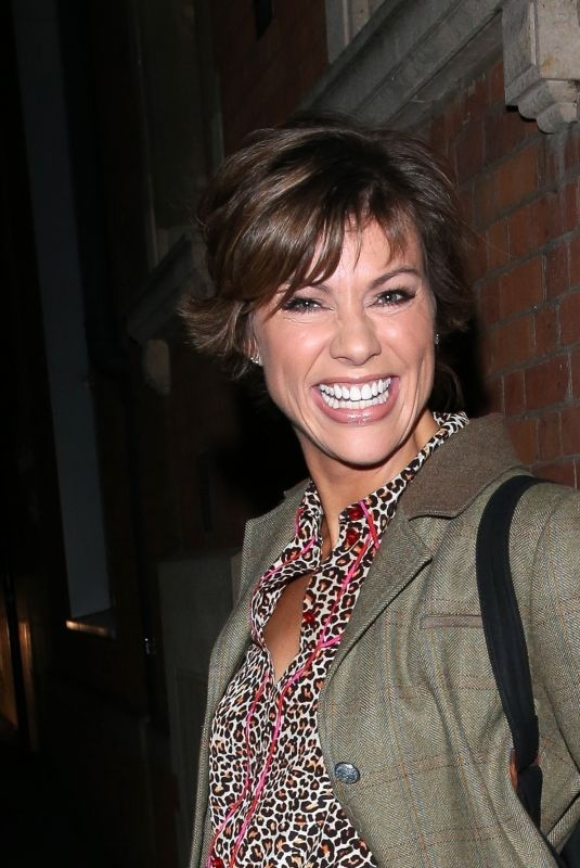 Kate Silverton At Strictly Come Dancing stars exit It Takes Two TV show in London