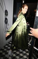 Kate Walsh Arriving for dinner at celebrity hotspot Craig