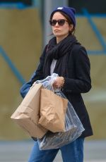 Katherine Waterston Out running errands in NYC