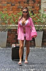 Katie Price In bikini while on holiday in Thailand