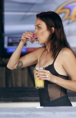 LaLa Kent During a boozy late afternoon lunch at The Belmont bar in West Hollywood