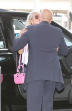 Leaticia Hallyday Jets out of LAX