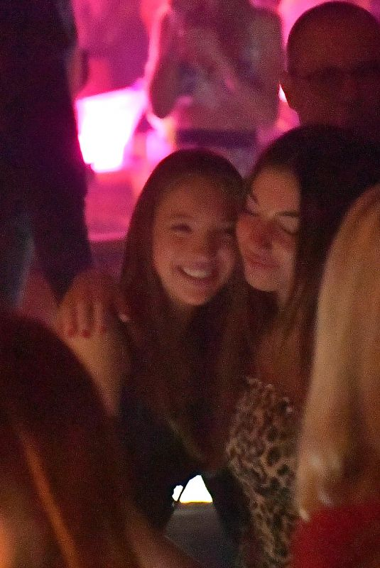 Lila Grace Moss Celebrates 16th Birthday With Friends at Les Caves du Roy - St Tropez, France