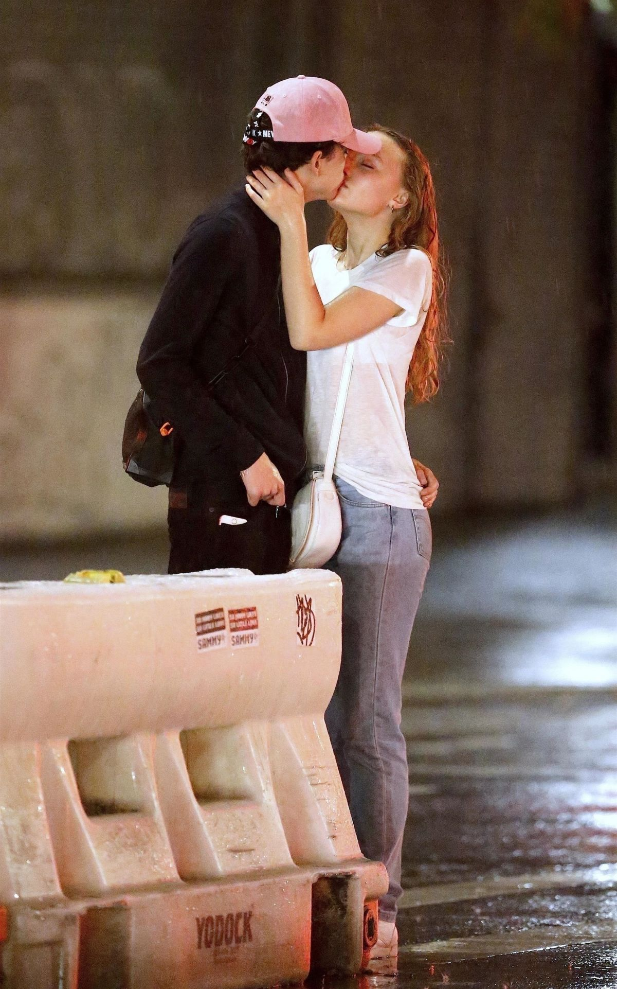 Lily Rose Depp Timothee Chalamet Out And About In New York Celebzz Celebzz