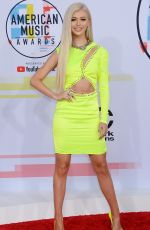 Loren Gray At 2018 American Music Awards at Microsoft Theater in Los Angeles