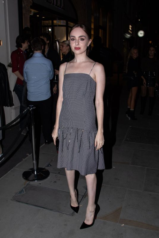 Louisa Connolly-Burnham Attends the FENDI MANIA collection launch party in London