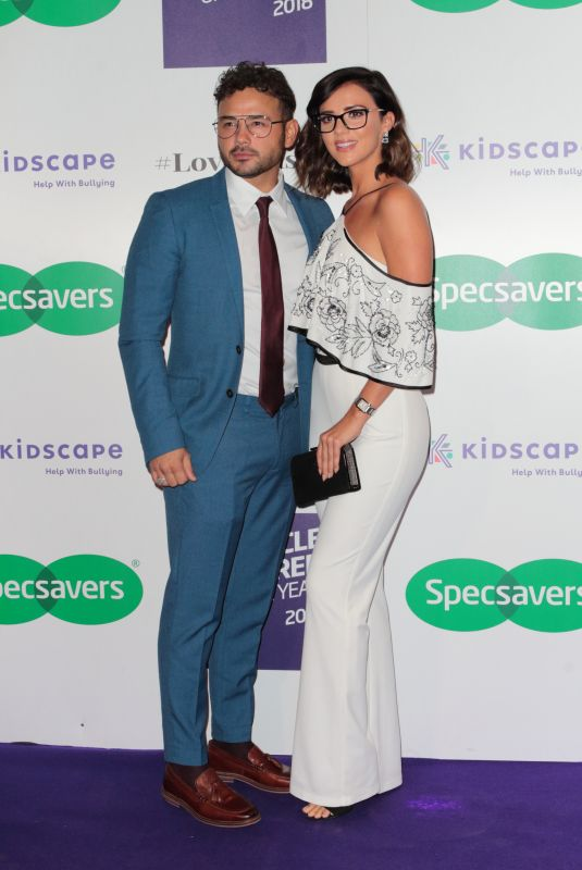 Lucy Mecklenburgh At Specsavers