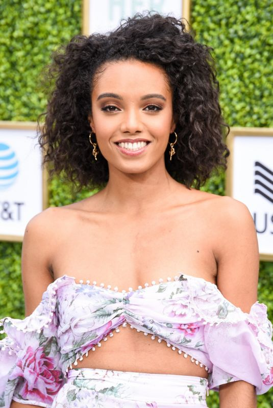 Maisie Richardson-Sellers At The CW Network