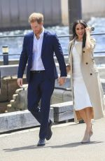 Meghan Duchess of Sussex Arrives at the Sydney Opera House