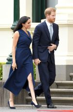 Meghan Duchess of Sussex At Government House in Melbourne, Australia