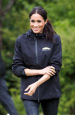 Meghan Duchess of Sussex Attends a dedication of a 20-hectare site to The Queen