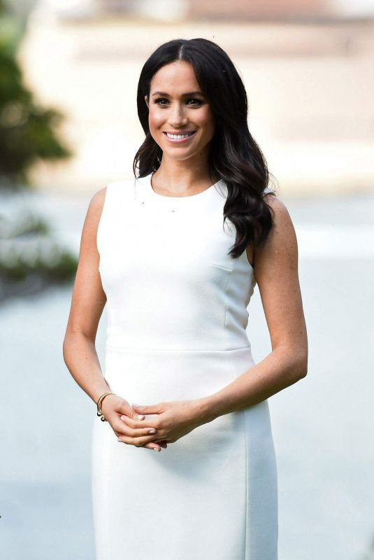 Meghan Duchess of Sussex Visiting the Admiralty House in Sydney, Australia